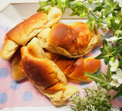 低糖質な塩パン (2)
