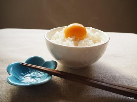 冷凍卵で卵かけご飯