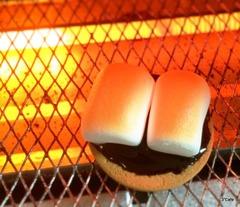 トースターで焼きマシュマロ