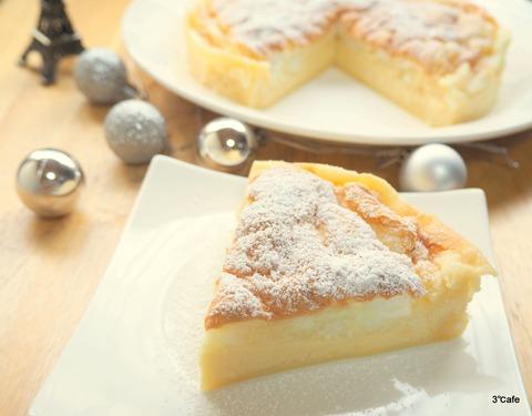 ココナッツオイルのマジックケーキ (2)