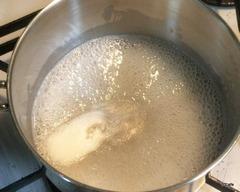 寒天液を沸騰