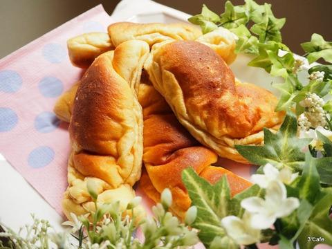 低糖質な塩パン (3)