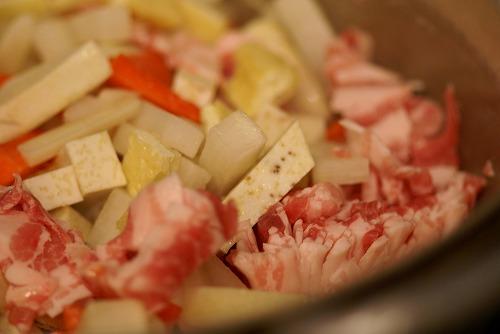 カレー風味の豚汁