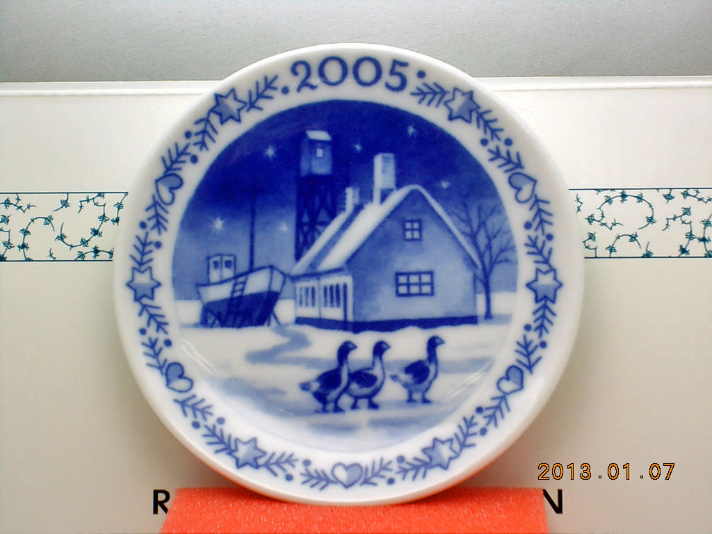 ROYAL-COPENHAGEN-2005-Christmas-Plaquette