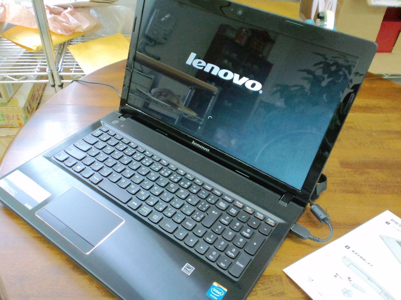 レノボのノートパソコン