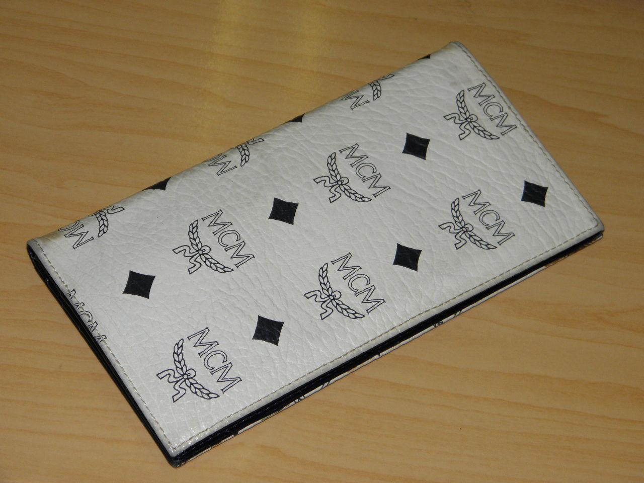 MCMの長財布の画像