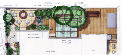 岡山邸 Plan A 平面2