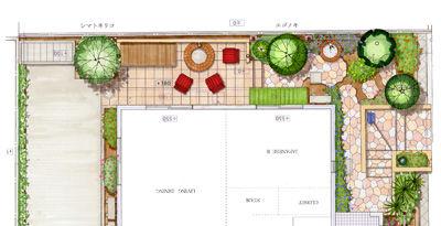 赤沢邸 平面図−1