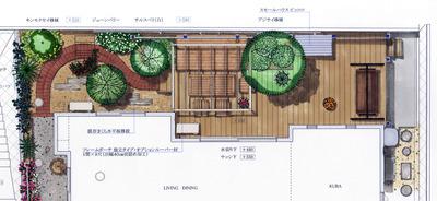 岡山邸 Plan B 平面2