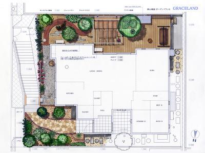 岡山邸 Plan B 平面1