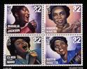 ゴスペル歌手の切手