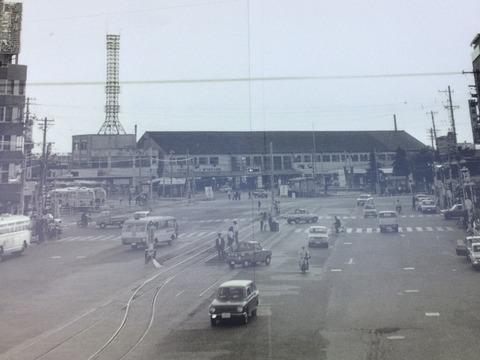 昭和44年豊橋駅前