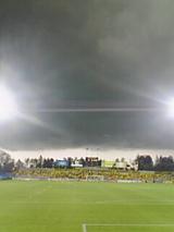 雷雲、襲来