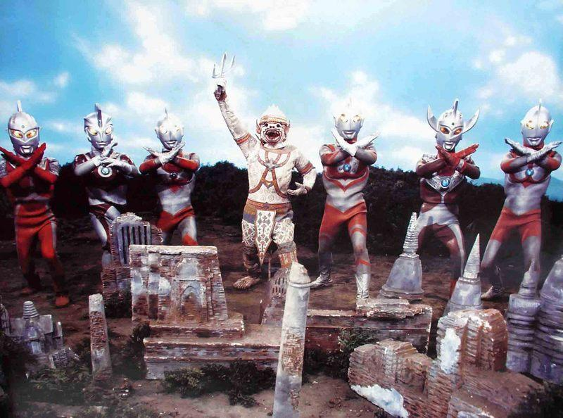 ウルトラ6兄弟VS怪獣軍団(ハヌマーンと7人のウルトラマン)』(ネタバレ ...