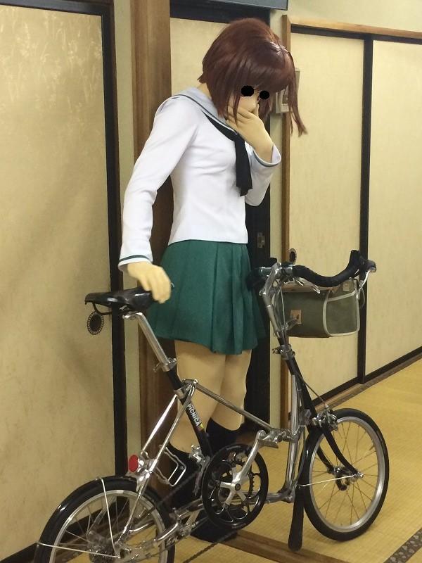 自転車の 自転車 スタンド 縦置き 自作 : それはユーラシアから始まった ...