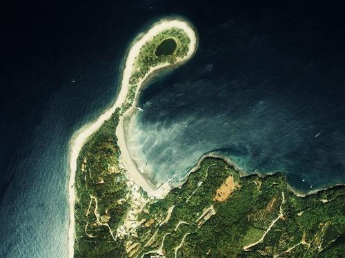 Osezaki_cape_Aerial_Photograph