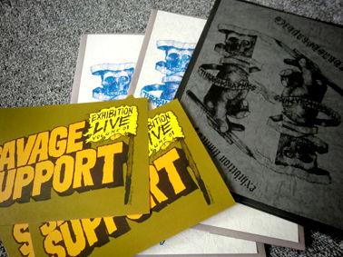 SAVAGE SUPPORT EXHIBITION vol.01