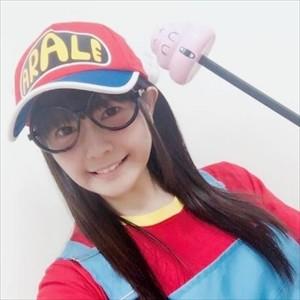 【画像】竹達彩奈さん(28)のアラレちゃんのコスプレwww