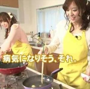 佳村はるかさん、料理が上達する