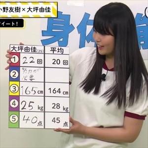 大坪由佳さん(25)、体操服を着せられてしまうwww