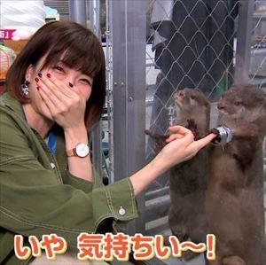 諏訪彩花さんとカワウソって言うほど似てるか??