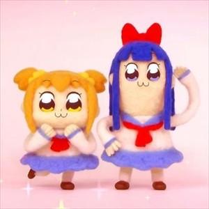 アニメ「ポプテピピック」放送ごとにポプ子とピピ美の声優が増加!