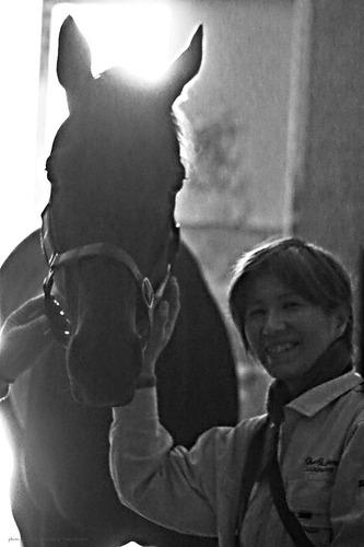 厩舎_お馬さんと_1