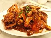 R0012902_萬来亭上海蟹の味噌炒め