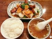 R0013311_興昌の酢豚とご飯で1470円