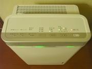 R0015005_空気清浄機の操作パネル