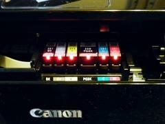 R0054150_新プリンターCanonMG6330インクセット完了_20121209