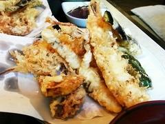 R0010109_ふるかわの天ぷら定食