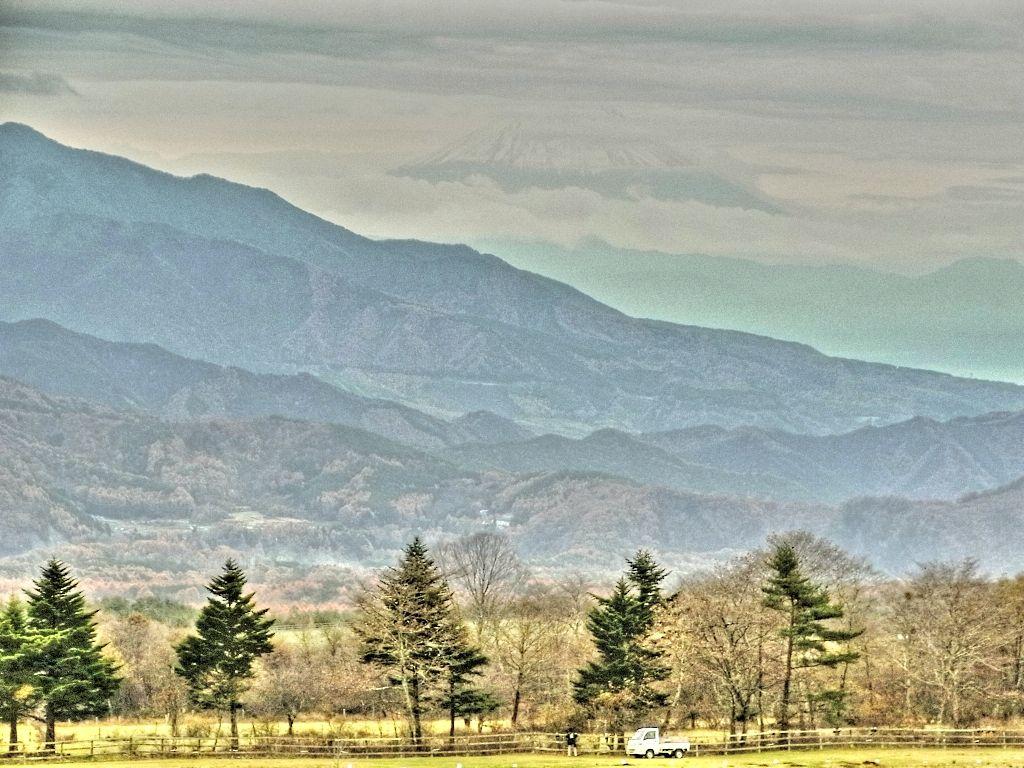 R0053911_清泉寮から望む富士山_20121111-HDRI-1
