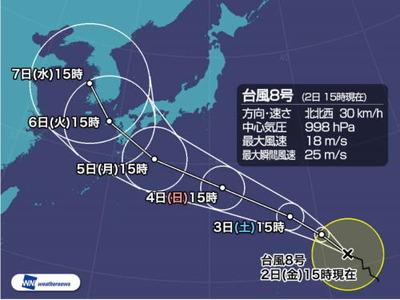 台風の進路_2019_8