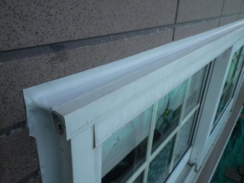 窓廻りシーリング厚みも十分持たせてあります!