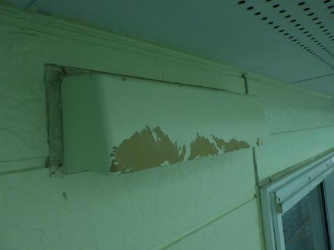 適合プライマーを塗装しないと簡単に剥がれます