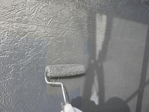 中塗り後の上塗り