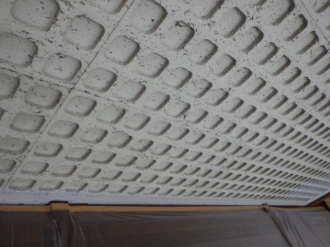この軒天井は大変でした