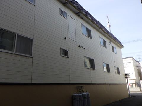 北区麻生アパート屋根塗装