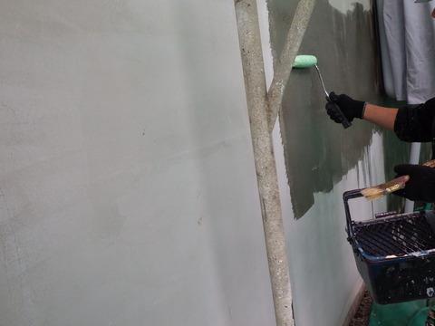 エポキシ樹脂シーラー塗装