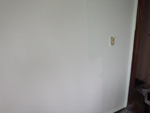 シックイ塗料は塗ったときの方が色が濃い?