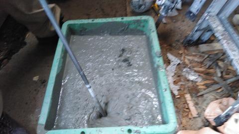 コンクリートを作る
