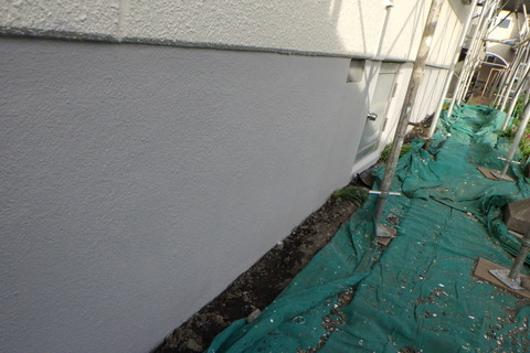 基礎透湿撥水艶消し塗装仕上げ