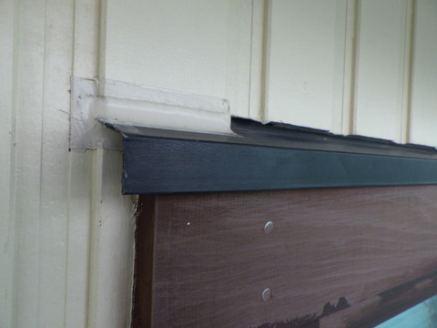 窓廻り塩ビ鋼板