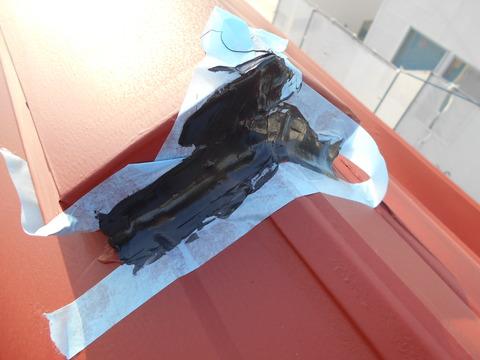 屋根用高耐久シーリング使用