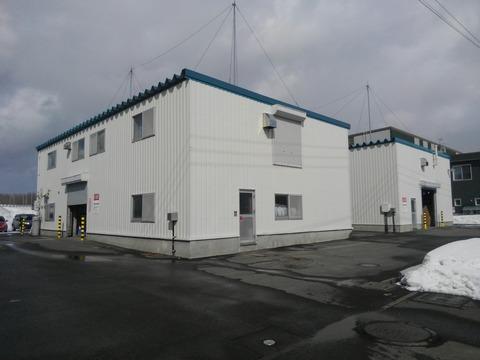 塗料倉庫と調色センター