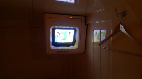 テレビも付いていて快適でした