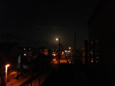 10月は日が沈むのが早い