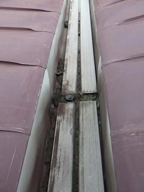 上屋根ダクトの状況