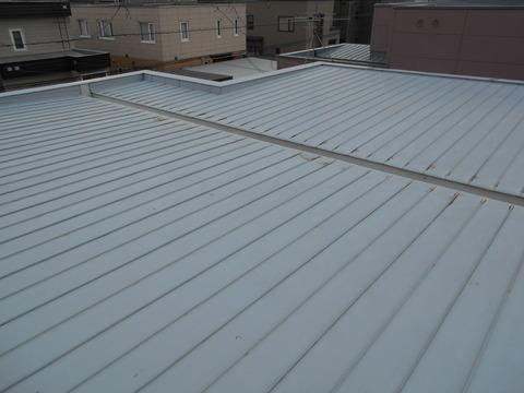 10.7年前に施工した屋根